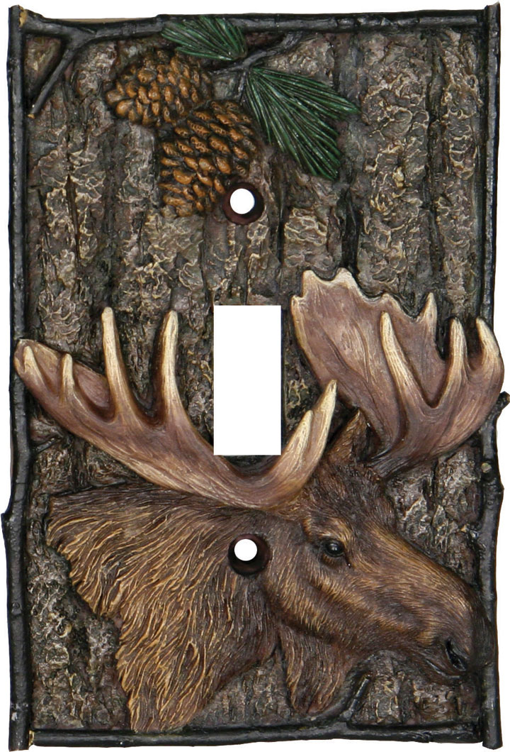 Moose Single Switch Cover