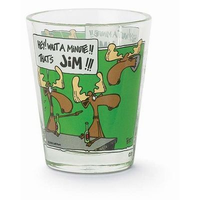 Shot Glass - That's Jim!