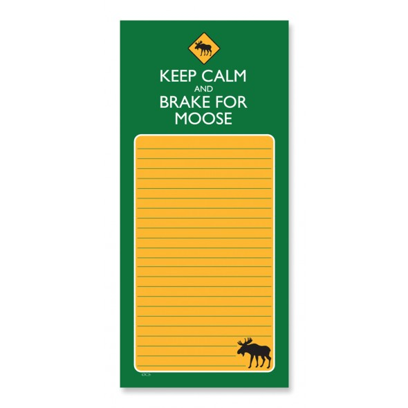 Magnetic Pad Keep Calm & Brake for Moose