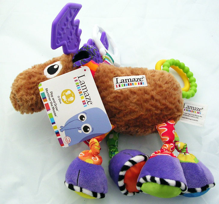 Lamaze Mortimer Moose Play and Grow Baby Toy