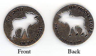 Spirit of The Moose Coin