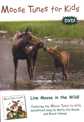 Moose Tunes for Kids DVD